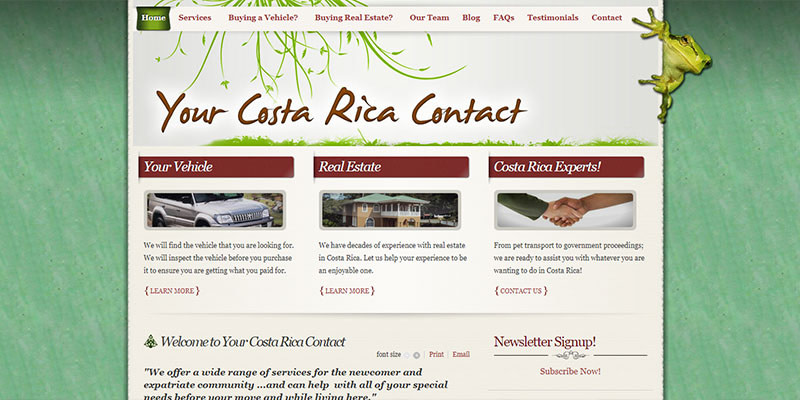 Your Costa Rica Contact