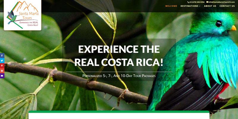 Santa Marta Tours - Costa Rica